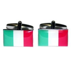 Italy / Italian Flag Cufflinks