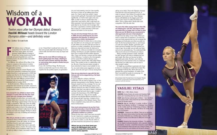 International Gymnastics Magazine