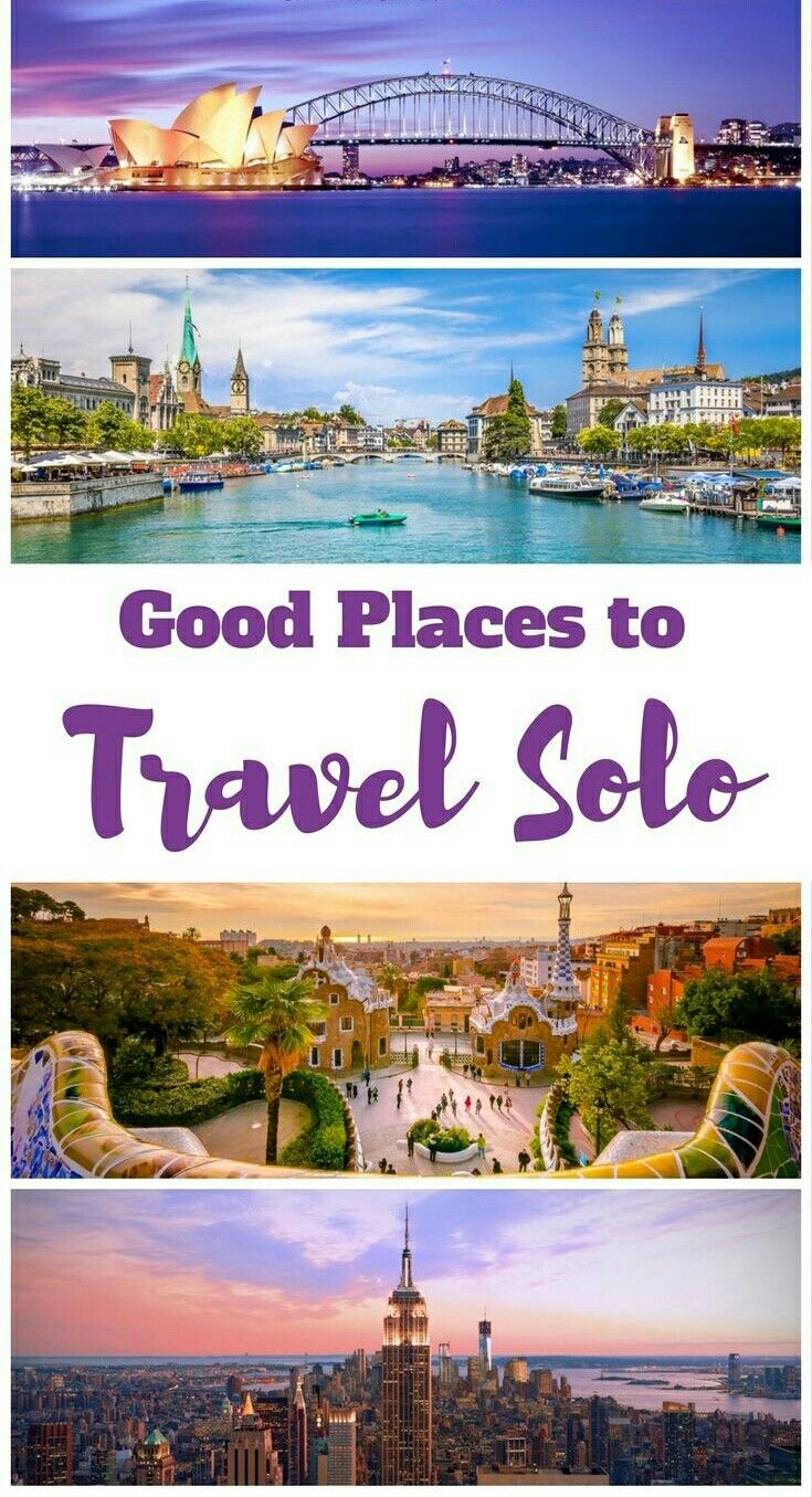 Amazing Destinations Great for Solo Travel | #Travel Inspiration | Solo travel tips