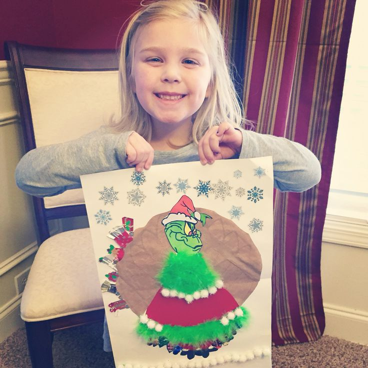 Disguise your Turkey project. The Grinch!