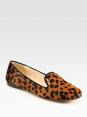 Prada smoking slipper are the epitome of luxury...get on my feetSmoke Slippers, Hair Smoke, Leopards Prints Ponies, Animal Prints, Leopardprint Ponies, Smoking Slippers, Prada Leopards, Ponies Hair, Prada Smoke
