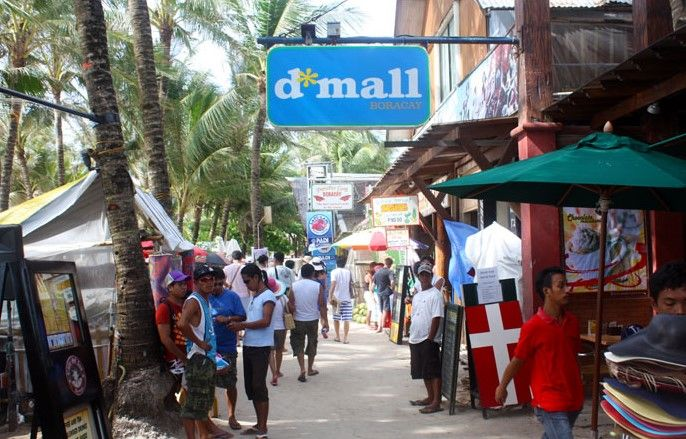 D'Mall Boracay Shopping Guide