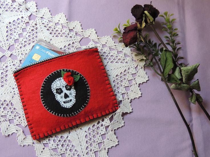 Sugar skulll wallet