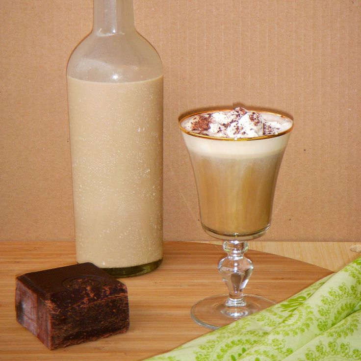 Irish Coffee with homemade Irish Cream recipe - Foodista.com