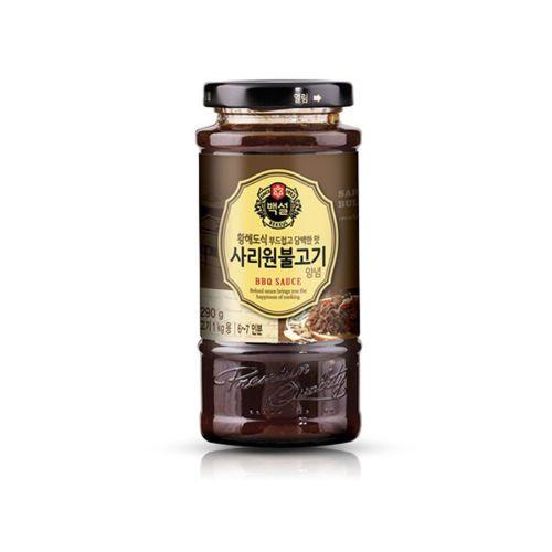 [불고기] {CJ-Beksul} Sariwon Bulgogi Marinade Seasoning Korean BBQ Sauce 290g (10.23oz)