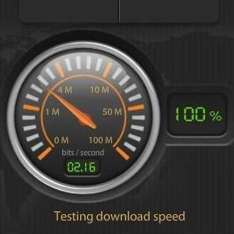 Comcast speed test tool