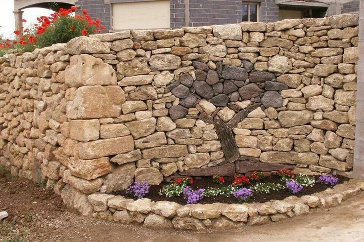 Awesome sandstone wall