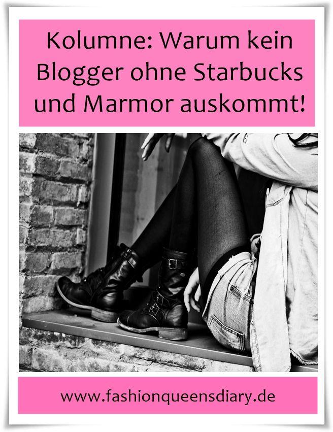 Carrie Bradshaw ohne Mister Big? Blogger ohne Marmor und Starbucks? Eine Blogger Kolumne zum Schmunzeln mit einem Hauch Ironie...
