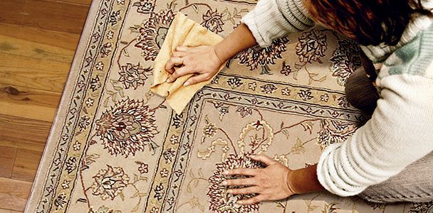 how to get old stains out of carpet naturally