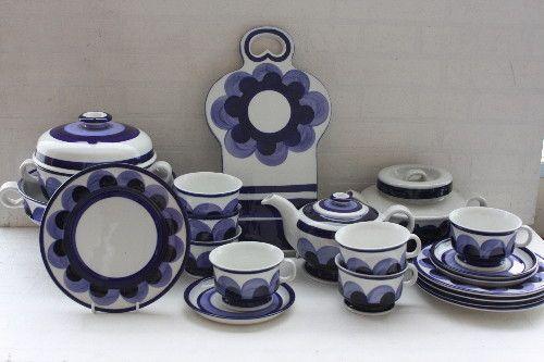 Arabia Paju dinnerware