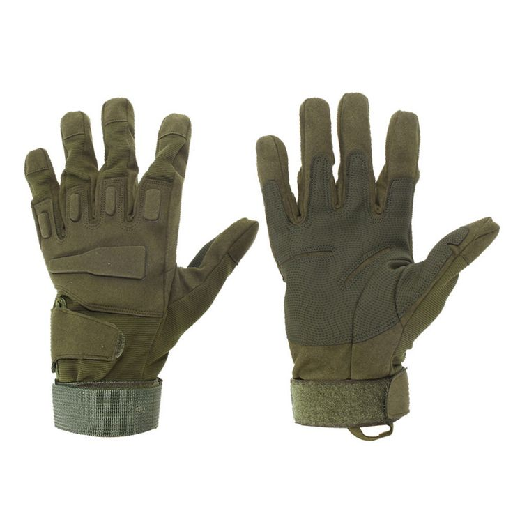 陸軍戦闘トレーニング戦術的な手袋男性軍事警察兵士ペイントボール屋外手袋フルフィンガースポーツハント自転車手袋