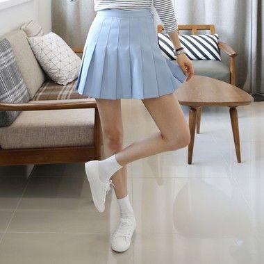 Short Pleated Tennis Skirt