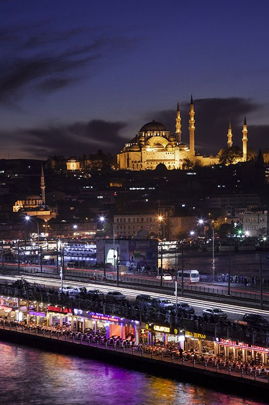 Suleymaniye&Galata Bridge | Istanbul,Turkey