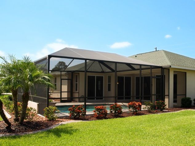 how to add shade and privacy to a patio