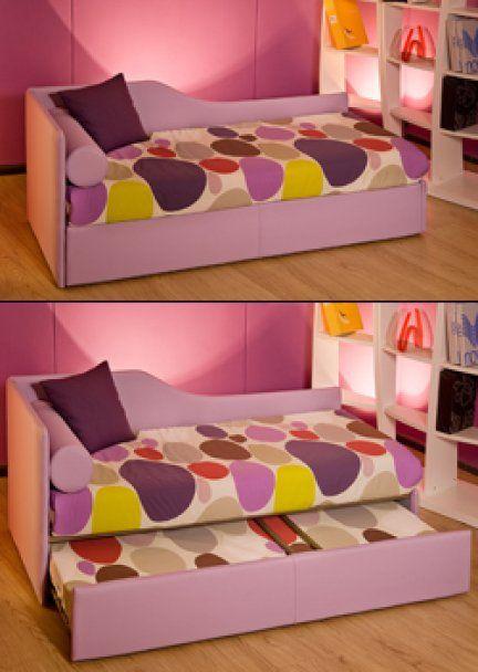 Divano ALICE trasformabile in letto completamente sfoderabile