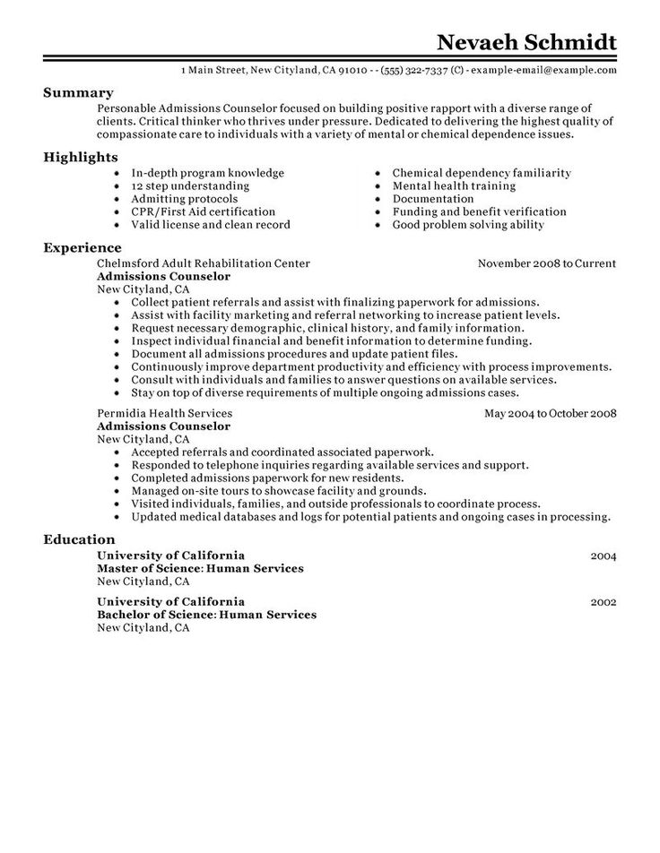 career counselor resume objective 8 summer camp counselor resume