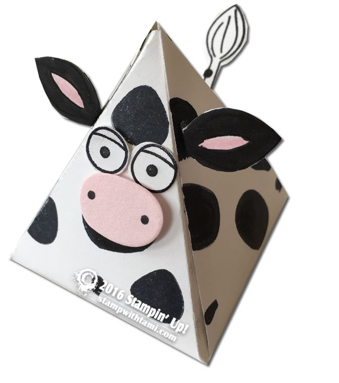 VIDEO: Playful Pals Part 2 – The Cow Box | Stampin Up Demonstrator - Tami White - Stamp With Tami Crafting and Card-Making Stampin Up blog