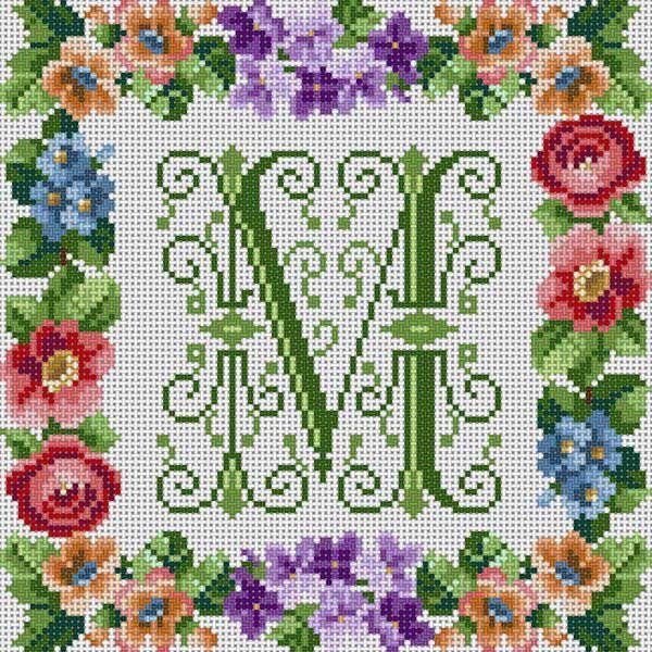 Victorian Alphabet/M