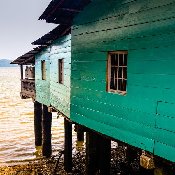 Caribbean Painted Blue. La Palma, Darien Provence, Panama #xplormor