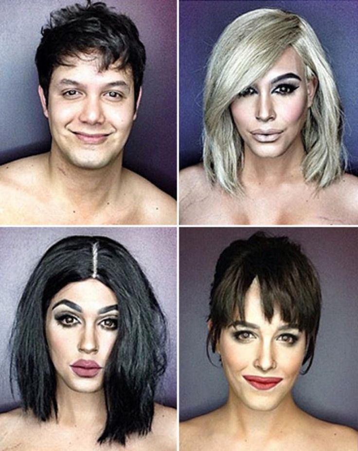 Male Makeup Artist Transforms Into Kim Kardashian, Kylie Jenner: Pics - Us Weekly