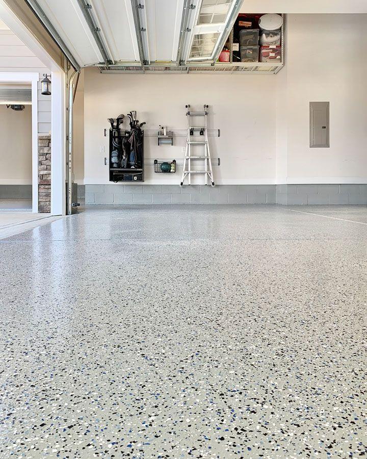 Epoxy Garage Floor In 2020 Garage Floors Diy Epoxy Floor Diy Garage Floor Epoxy