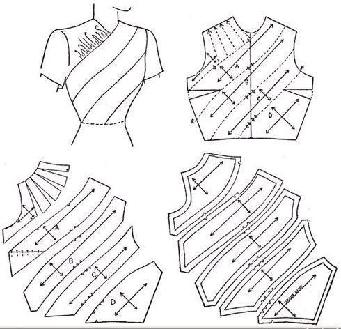 服装结构设计图示-资讯中心-中国缝制设备网