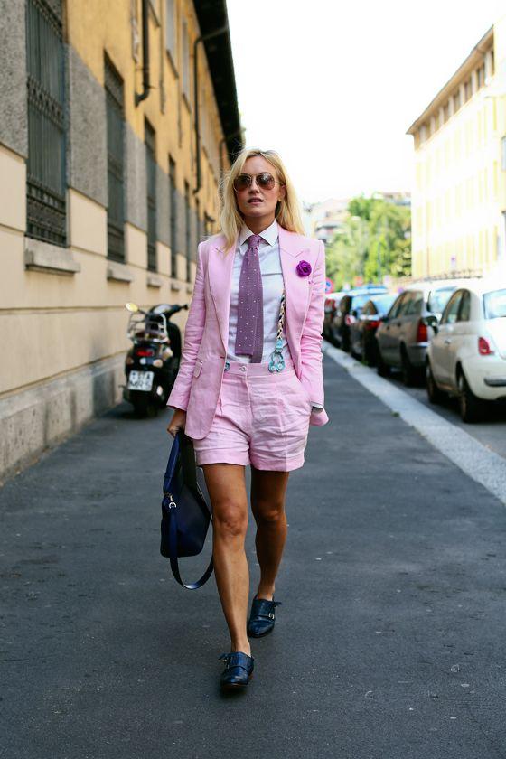 Milan Mens Fashion Week SS14 Street Style, Sarah Ann Murray (from all the pretty birds blog)