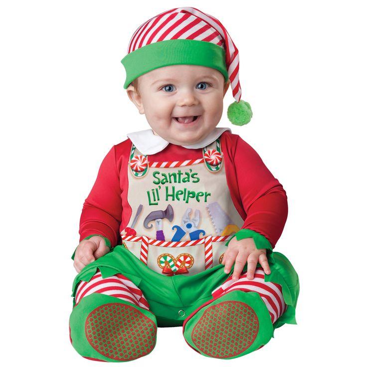 INCHARACTER COSTUMES REF: 36002 AYUDANTE DE SANTA BEBE. Incluye traje especial para que cambies el pañal a tu bebe fácilmente y sombrerito. PRECIO COLOMBIA: 115.000