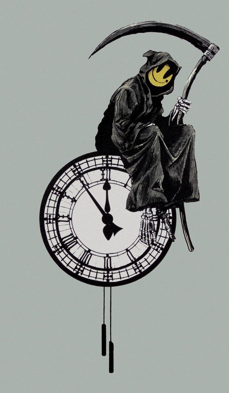 Grin reaper - Banksy 2005
