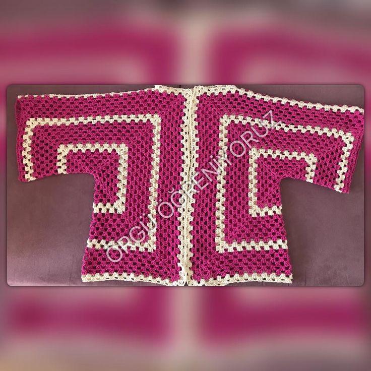 altıgen yelek. hexagon vest crochet anlatım facebook sayfamda