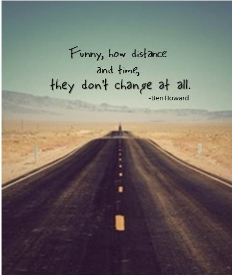 Distance And Time Quotes: Best 25+ Ben Howard Lyrics Ideas On Pinterest