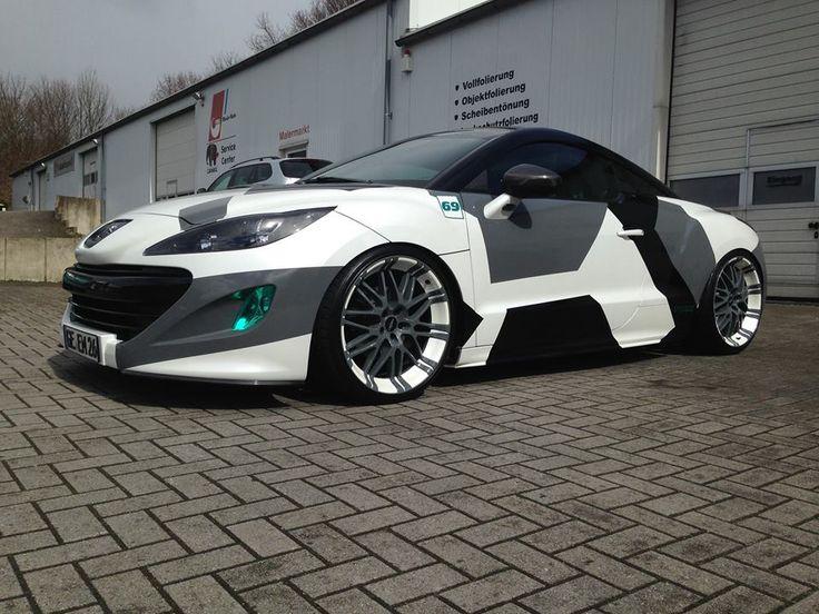 peugeot #rcz on #oxigin #wheels   supercars & custom cars