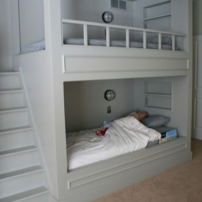 1000 Images About Built In Bunk Beds On Pinterest Bunk