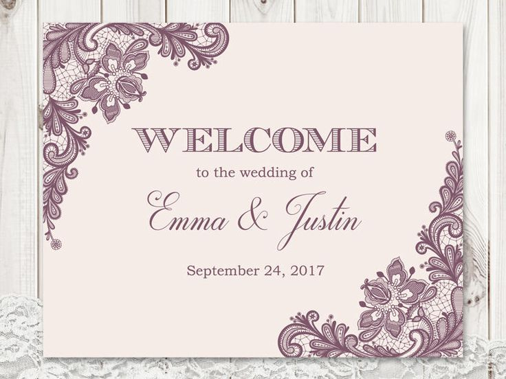 Best Wedding Invitation Templates Vintage Lace Images On