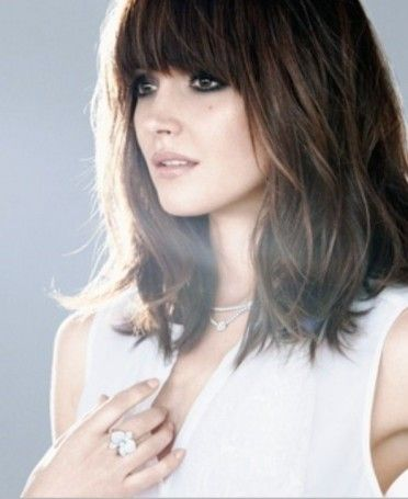 Wavy Bob Hairstyles Without Bangs : Best 20 long bob with fringe ideas on pinterest bob