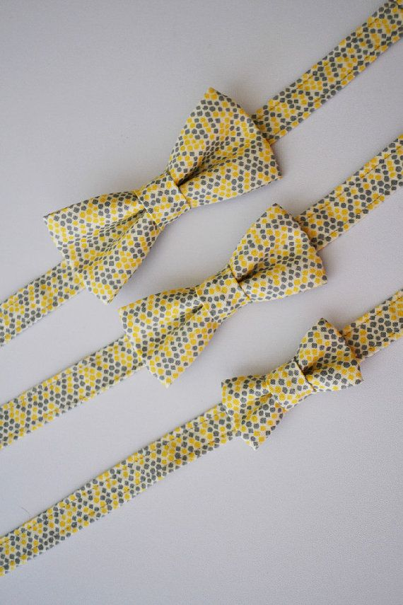 Handmade Bow ties by AmandaJoHandmade. #ThePerfectPalette YES. A must-have for any guy attending the  ARTrageous Dotted Ball! http://www.craftalliance.org/news/gala/gala13.htm