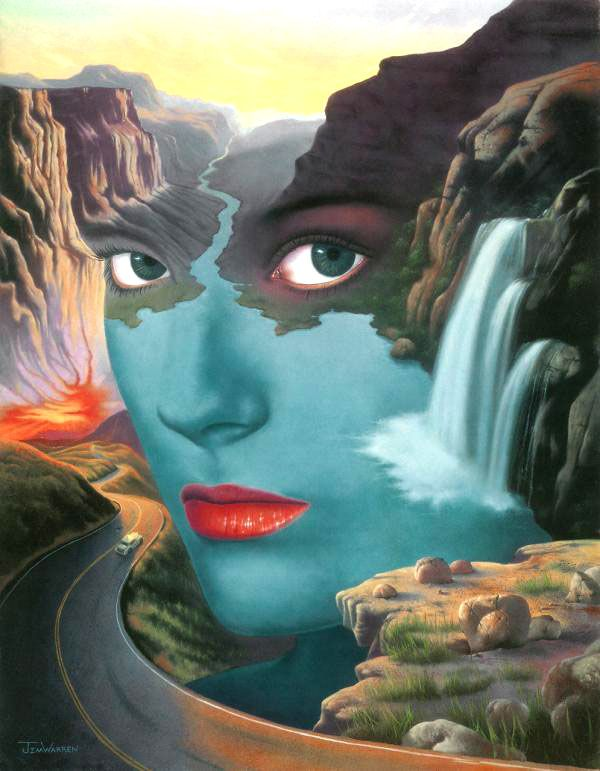 surreal imagination illusion creativity paintings best beautiful awesome jim warren amazing