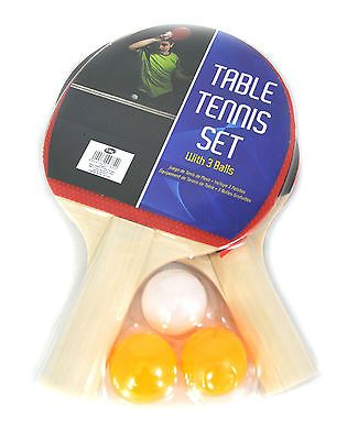 New 2 player #table tennis ping pong set #includes 3 balls two #paddle bats game ,  View more on the LINK: http://www.zeppy.io/product/gb/2/400760990885/