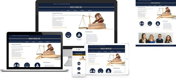 Website design by Forge Online using WordPress. http://www.forgeonline.co.nz/website-design/henley-smith-law/