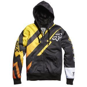 Save $47.30 on FOX RACING LOONEY SASQUATCH MENS ZIP-UP HOODY BLACK LG; only $62.70