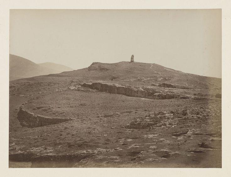 Vue générale de la ville d'Athènes, panorama, épreuve n°                     6/6 © Musée Guimet, Paris, Distr. Rmn / Image Guimet