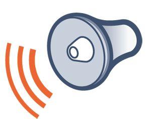 pictogramme sirene alarme 95db integree de mediaveil. Black Bedroom Furniture Sets. Home Design Ideas
