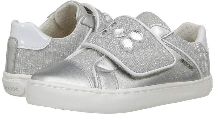 Geox Kids Kilwi 17 Girl's Shoes #Breathable#closure#lining