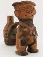 Vessel, Vicus, Peru, north coast, 100 - 700 C.E., Ceramic, Fowler Museum at UCLA. X86.3718.