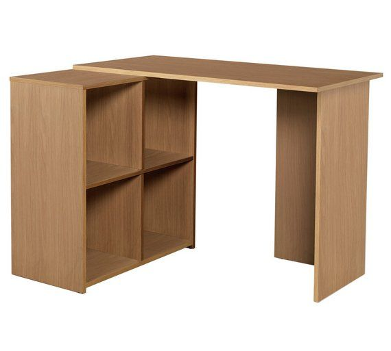 Buy HOME Calgary Corner Desk   Oak Effect At Argos.co.uk   Your