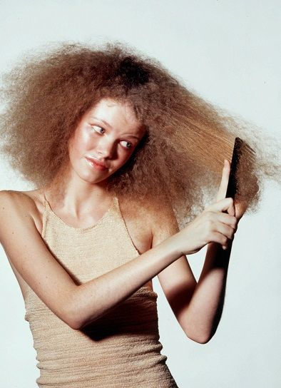 problems with curly hair