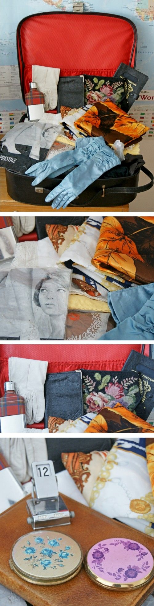 Vintage Rummage Case | Accessories Mixed Lot. Nothing beats having a good rummage for a vintage gem!