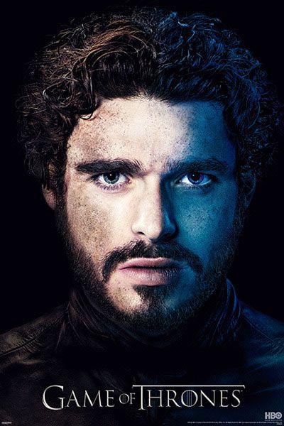 Póster Juego de Tronos. Robb Stark, cara