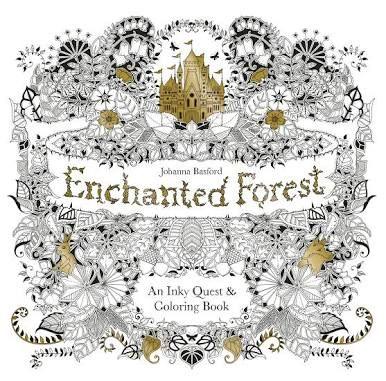 Enchanted Forest, Johanna Basford, United Kingdom 🇬🇧 my rating 5