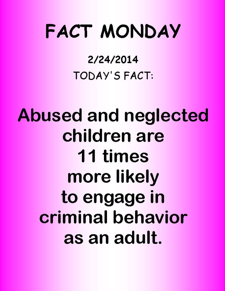 abused adult behaviour